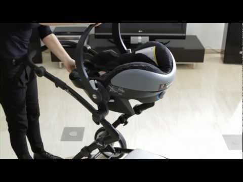 Mima Xari And Kobi Car Seat Installation Youtube