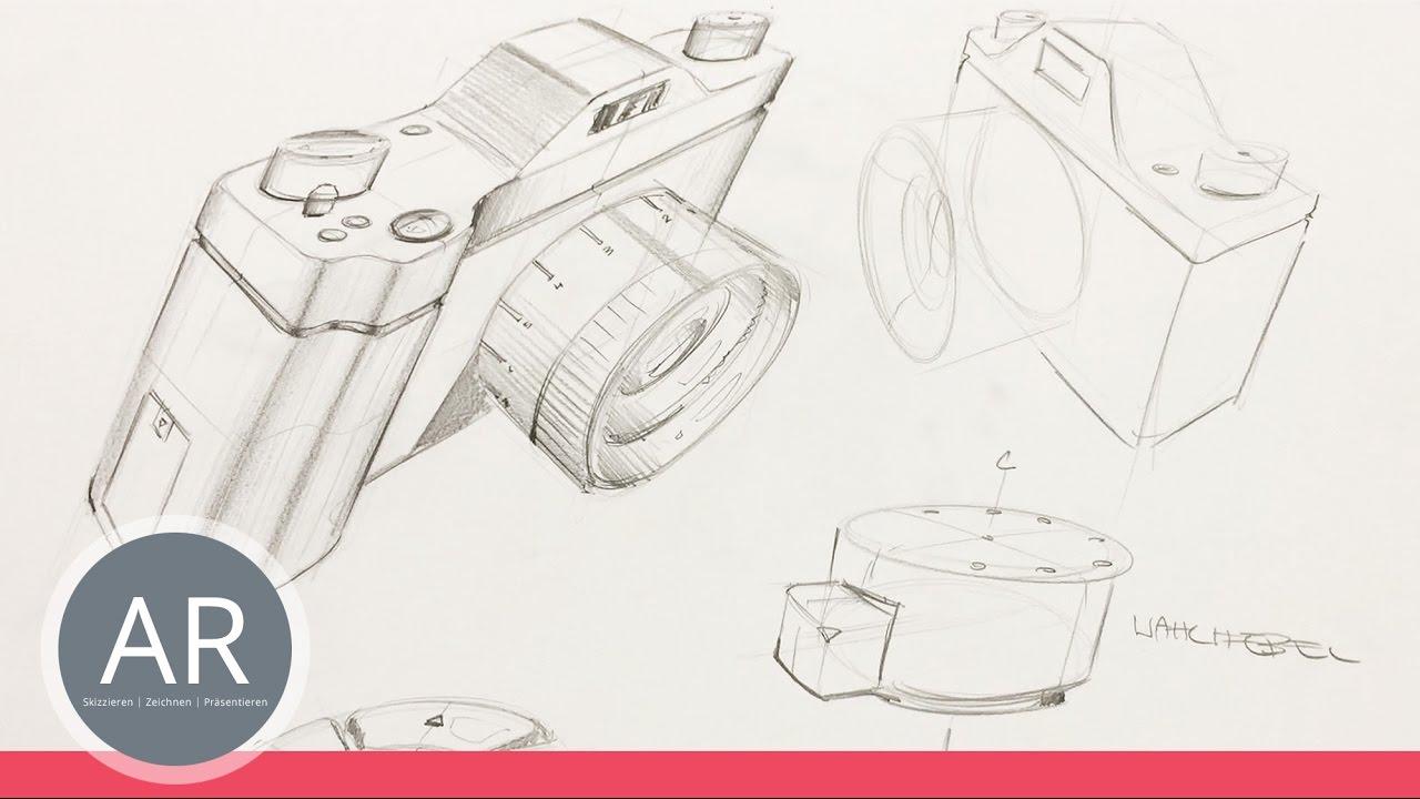 Skizzen zu einer komposition kombinieren produktdesign for Mappe produktdesign