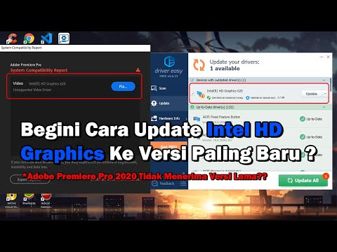 Begini Cara Update Intel HD Graphics ke Versi Paling Baru