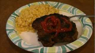 Taking Ground Beef And Making It Into An Awesome Steak...