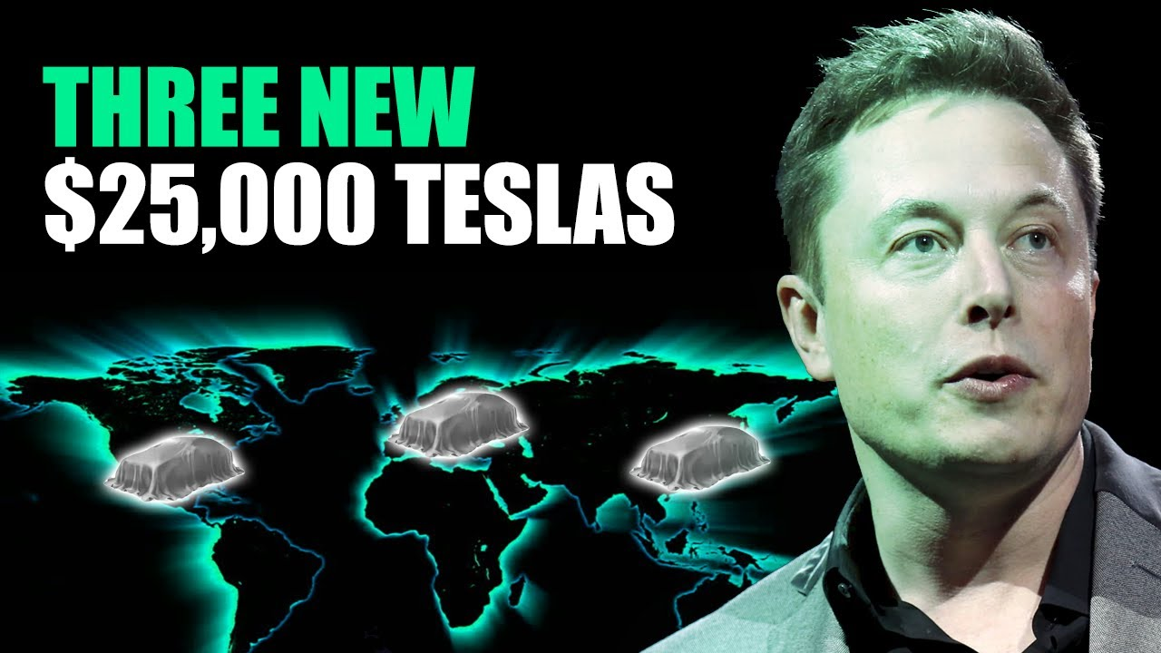 Elon Musk Confirms Tesla's Upcoming 3 New ,000 Electric Vehicles