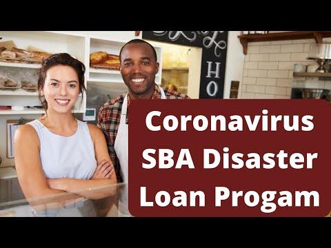 Coronavirus SBA Disaster Loan Program
