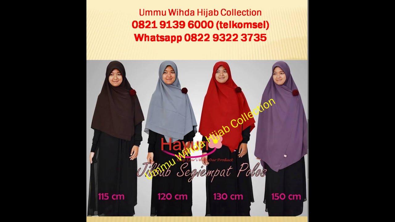 00821 9139 6000 Tsel Jual Jilbab Besar Bergo Hijab Syari