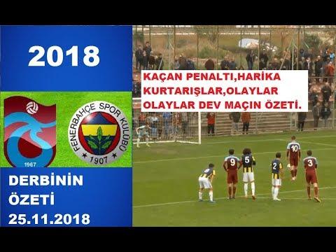OLAYLI DERBİDE PUANLAR PAYLAŞILDI/TS FB MAÇ ÖZETİ/U21 MAÇI 25.11.2018/