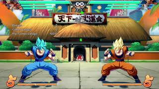 Goku Blue (Ssgss) team synergy combos with Trunks,Tien