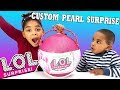 Custom lol surprise purple pearl surprise wave 2 limited edition rare and ultra rare dolls mp3