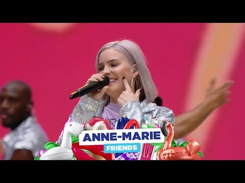 Anne-Marie - &39;FRIENDS&39;  at Capital&39;s Summertime Ball 2018