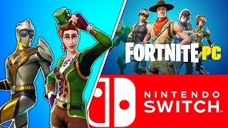Nintendo Switch Player Plays VS Pc Players!! (Nintendo Switch) - Fortnite Battle Royale Gameplay