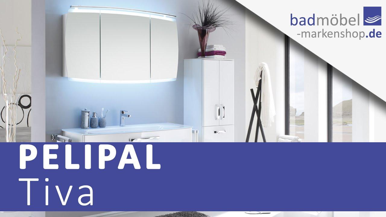 Pelipal Tiva Badmöbel - YouTube