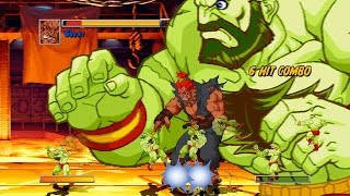 Super Street Fighter 2 Turbo HD MUGEN Akuma playthrough