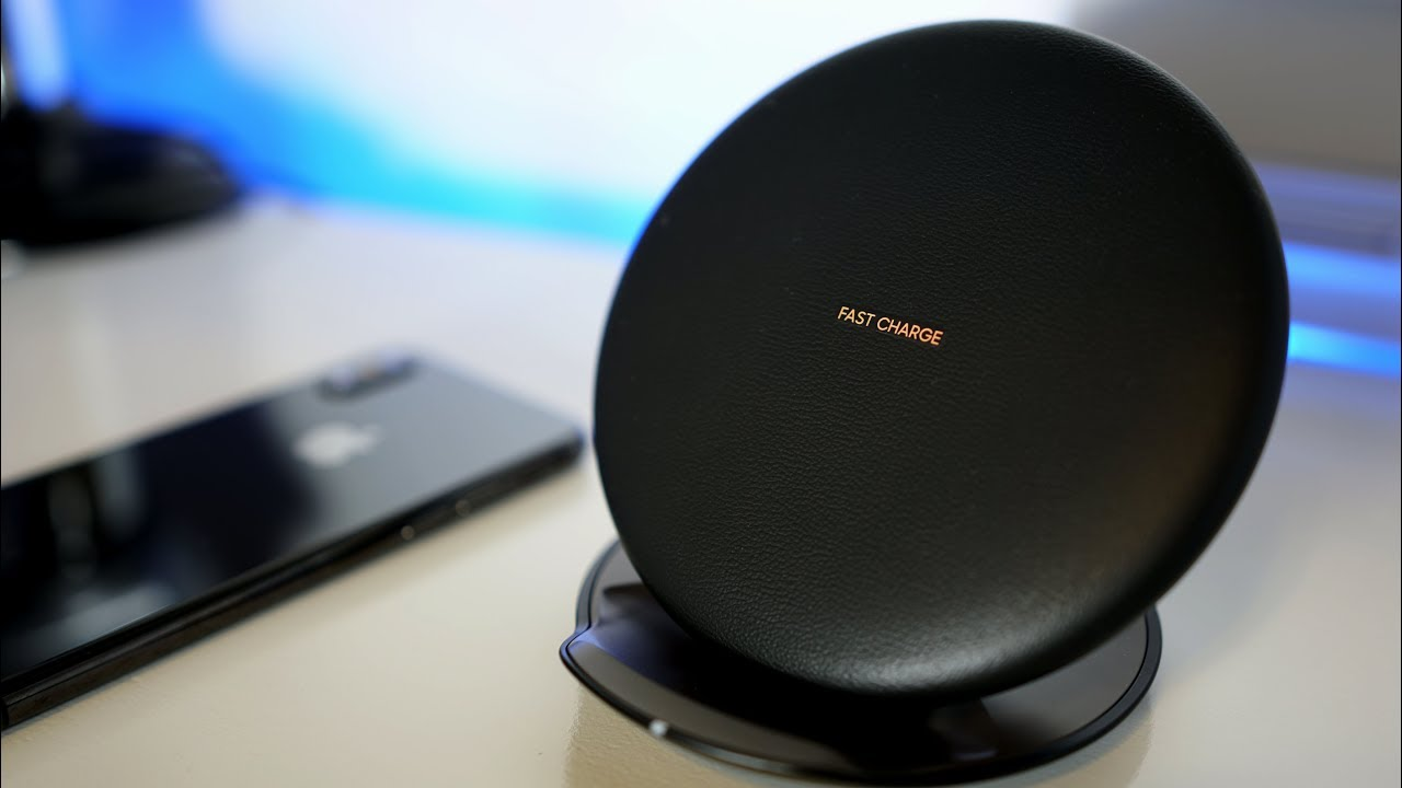 Samsung wireless charger good for iphone compatible