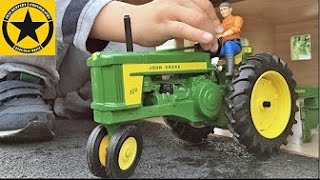 ERTL John Deere 720 Tractor Prestige, 1/16 by Ertl Collectibles + BRUDER TOY TRACTORs