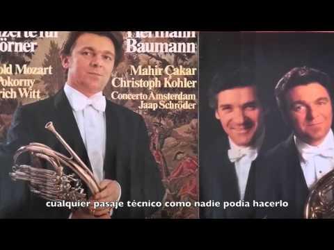 French Horn/Trompa/Javier Bonet/Bonet/Baumann Mozart Project complet