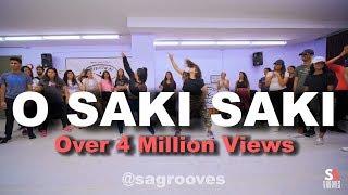 O Saki Saki | Nora Fatehi, Tanishk B, Neha Kakkar | SAgrooves Choreography