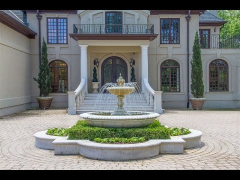 Stunning Mediterranean Style Estate in Acworth, Georgia