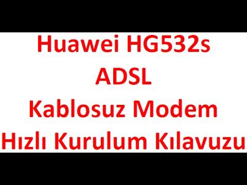 Huawei HG532s Modem Kurulumu - Vodafone Net