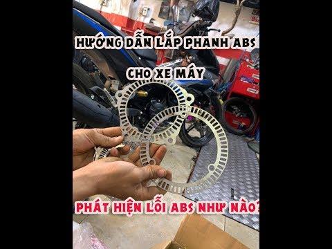 Quân Béo Motor► Hướng Dẫn Lắp Đặt Phanh ABS, Phát Hiện Lỗi Phanh ABS Cho Xe Máy