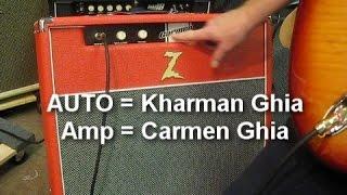 DR. Z CARMEN GHIA COMBO AMP DEMO - FREDSMUSIC.COM