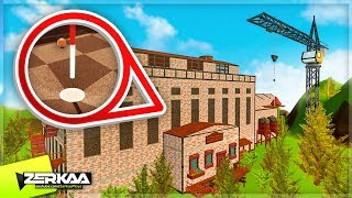 WE PLAYED MINIGOLF IN A FACTORY! *MOST ADVANCED CUSTOM MAP* (Golf With Your Friends)