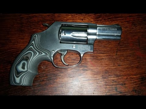 Hogue G 10 (G10) J Frame grips (Smith and Wesson model 60)