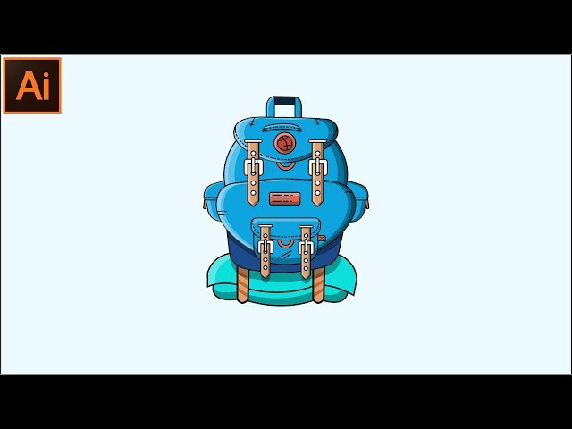 How to Make a Flat Design Illustration for Beginners | Adobe Illustrator CC Tutorial