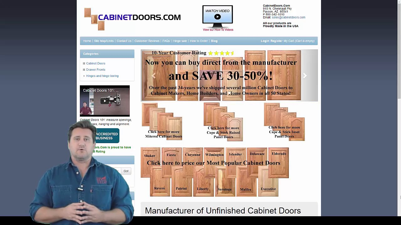 Delicieux Replacement Cabinet Doors Is An Easy Project | DIY Replacement!   YouTube