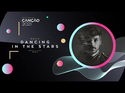 NEEV - Dancing in the Stars (Lyric Video) | Festival da Canção 2021