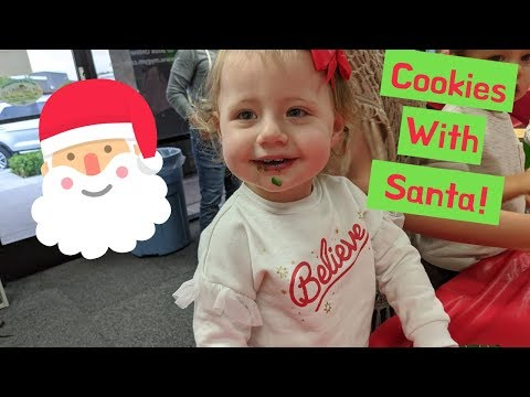 Cookies With Santa Claus!