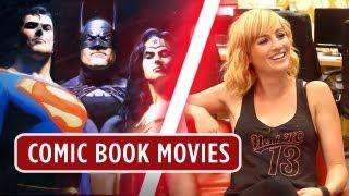 Comic Book Movies Nerd Machine Discussion - HD Movie - Alison Haislip