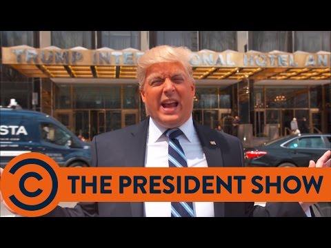 The President's New York - The President Show | Comedy Central