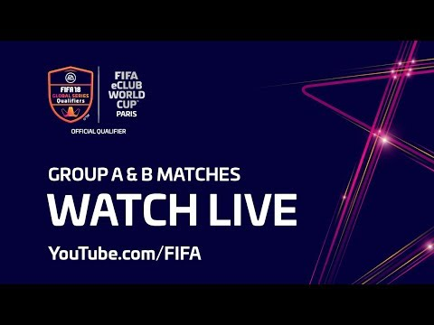 FIFA eClub World Cup™ - Group A & B matches