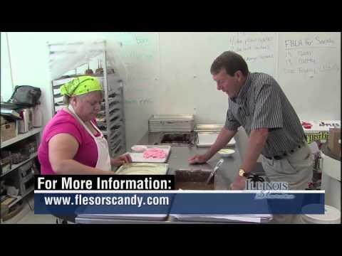 Illinois Stories   Flesor's Candy Kitchen    WSEC-TV/PBS Springfield