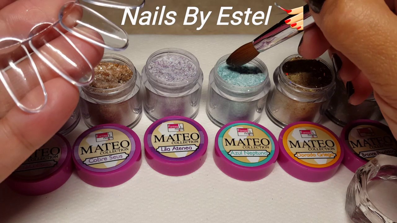 Mateo Collection from Fantasy Nails. - YouTube