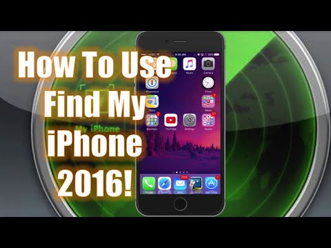 Thumbnail: How To Use Find My iPhone - 2016!