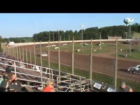 Pure Stock Red Cedar Speedway Heat Race June 24, 2016