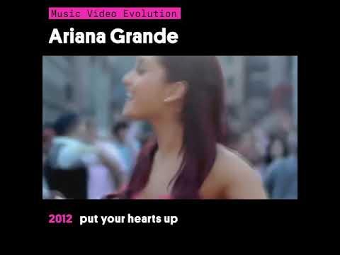 "ariana-grande""-music-video-évolution-of-2012-to-2017"
