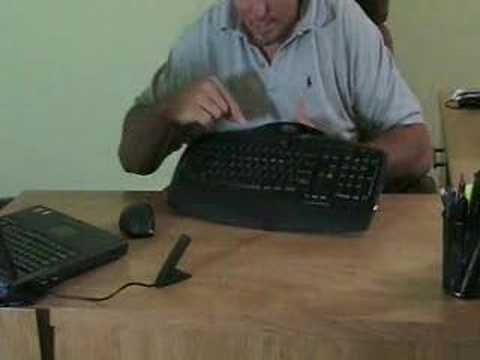 videoyug logitech mx3200 cordless laser desktop youtube rh youtube com logitech mx 3200 keyboard manual Logitech Cordless Keyboard