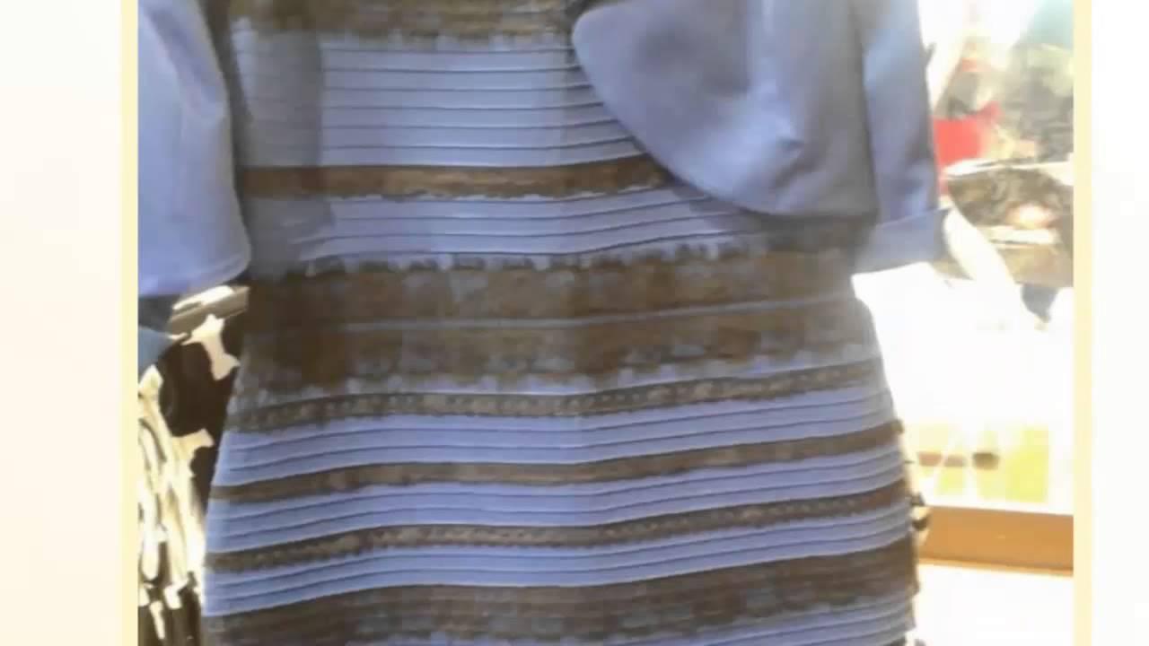 Vestido azul preto branco dourado