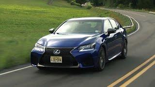 Lexus GS F 2016 Review