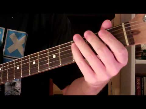 How To Play the Esus2 Chord On Guitar (Suspended Chord)
