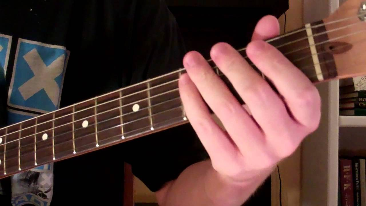 How To Play The Esus2 Chord On Guitar Suspended Chord Youtube