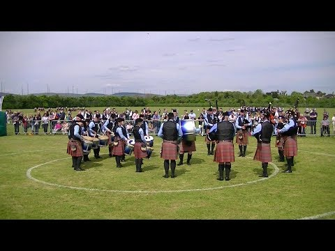 QUINN MEMORIAL PIPE BAND AT THE BRITISH PIPE BAND CHAMPIONSHIPS 2018