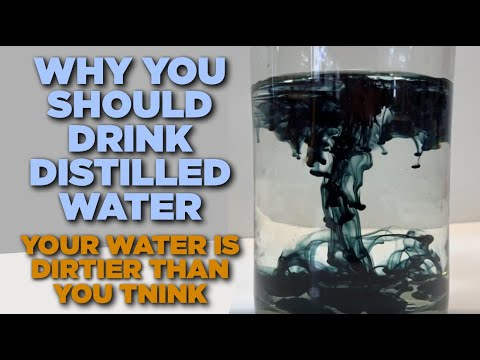 Tap Water Analysis - Three Reasons Why I Drink Distilled Water