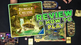 Disney Jungle Cruise Adventure Game Review and How to Play | Set Collection and Puns!