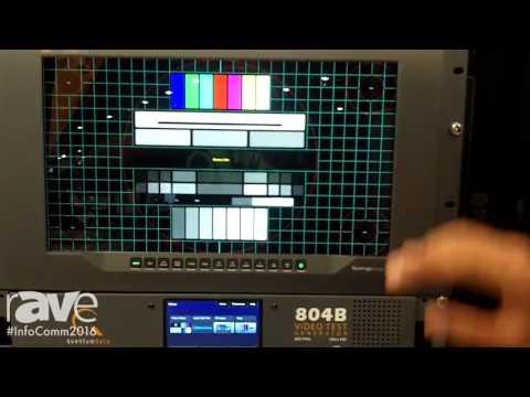 InfoComm 2016: Teledyne Technologies Exhibits Quantum Data 804 Series