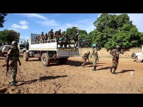 Patrouilles conjointes des FACA et de la Minusca à Birao