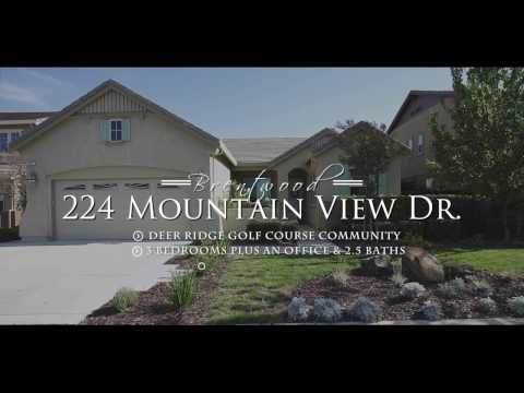 224 Mountain View Drive, Brentwood - Listed by Trish O'Connell