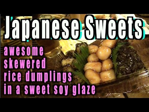 ③The most traditiona Japanese rice sweets and herbal sweets