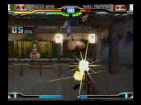 KOF Maximum Impact 2 Lilly Kane Playthrough