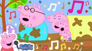 Peppa Pig Official Channel 🌟 Jumping in Muddy Puddles  🎵 Peppa Pig My First Album 10#